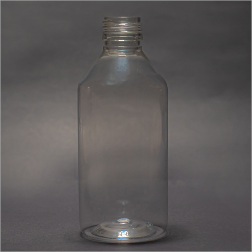 200 ml Clear Round Pharmaceutical PET Bottle