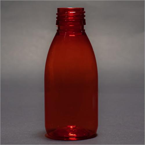 100 ml Red Round Pharmaceutical Bottle