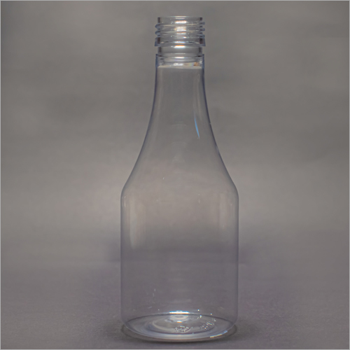200 ml Clear Brute Pharmaceutical Syrup Bottle