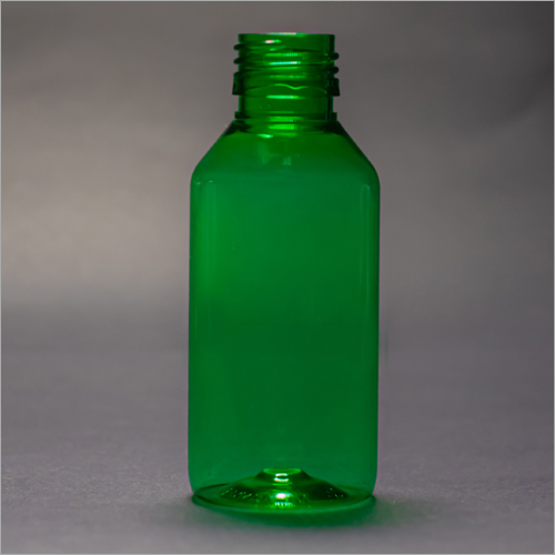 100 ml Green Round Pharmaceutical Bottle