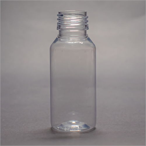 60 ml Clear Round Pharmaceutical PET Bottle