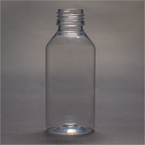 100 ml Clear Round Pharmaceutical Bottle