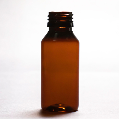 60 ml Amber Round Pharmaceutical PET Bottle
