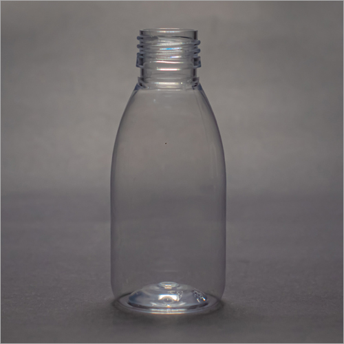 100 ml Clear Dome Pharmaceutical PET Bottle