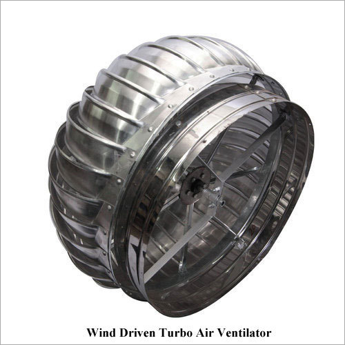Wind Driven Turbo Air Ventilator