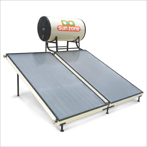 Front Glazing Toughened Glass Flat Plate Collector Solar Water Heater