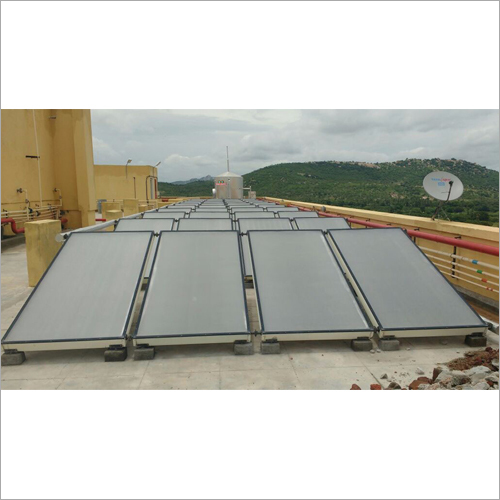 Enamel Coated Flat Plate Collector Solar Water Heater