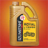 15W50 Premium Multigrade Engine Oil