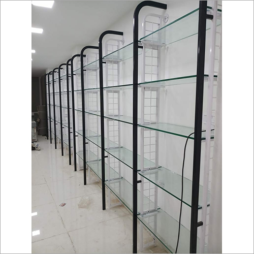 Glass Display  Rack With Bracket