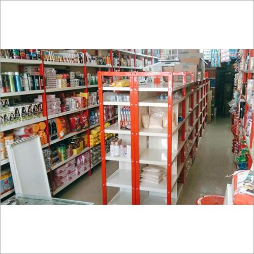 Pipe Center Shelf Rack