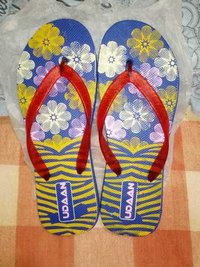 Ladies Printed Hawai Slippers