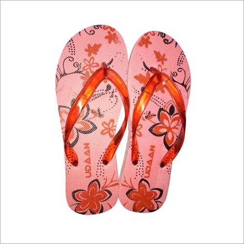 Ladies Floral Printed Hawai Slippers