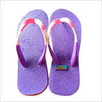 Ladies Plain Hawai Slippers