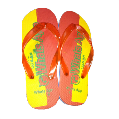 Men Printed Hawai Slippers