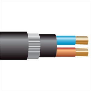 2.5 sq mm 2 Core Copper Armoured Cable