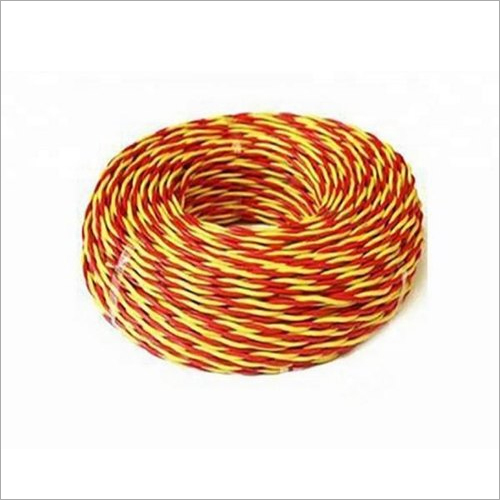 23/76 Twin Twisted Copper Flexible Wire