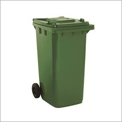 90L Plastic Wheel Dustbin