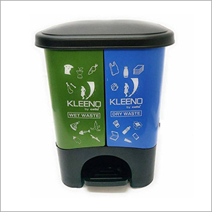 Wet And Dry Bin 35 Ltr Plastic Dustbin