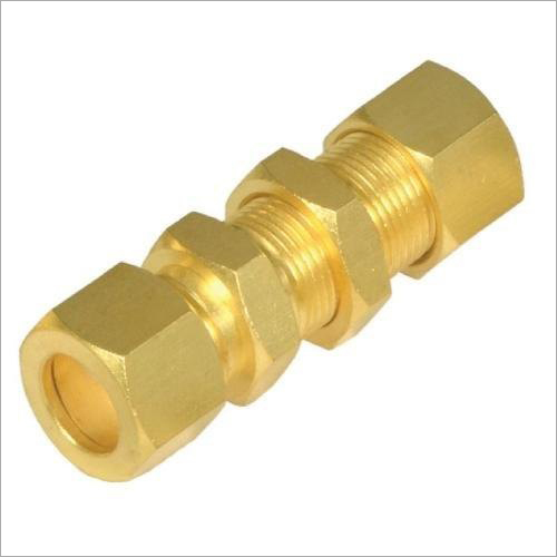 Brass Bulk Head Union
