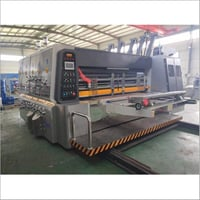 Lead Edge Two Color Printer Slotter Die Cutter Machine
