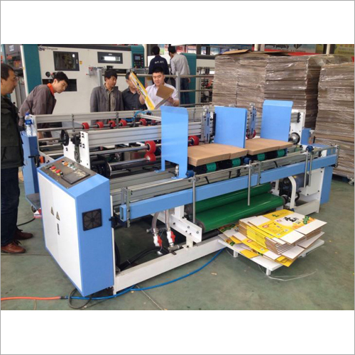 Two Piece Folder Gluer Machine