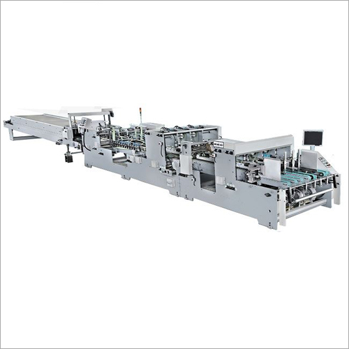 Automatic Bottom Straight Line Box Folding Gluing Machine