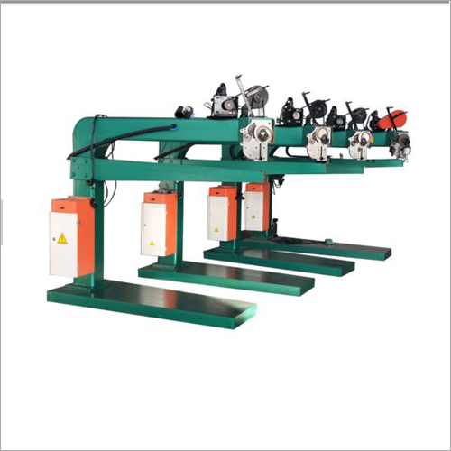 Semi-auto Box Stapler Machine