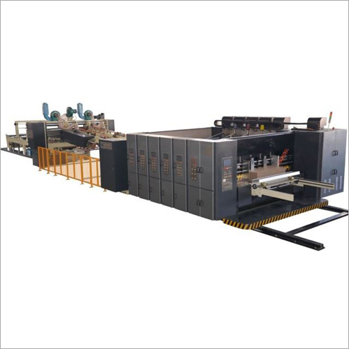 High Speed Flexo Printer Machine Folder Gluer Inline