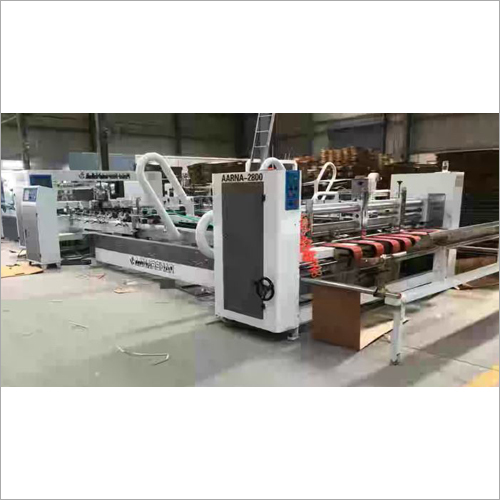 Automatic Carton Stitcher With Gluer