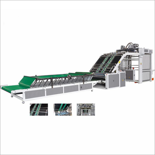 Economic Type Flute Laminator Machine