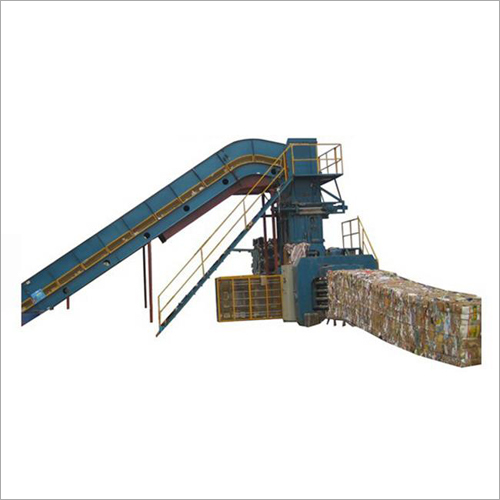 Automatic Waste Paper Baler Machine