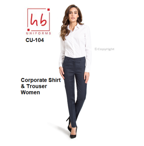 Corporate Shirt & Trouser Women