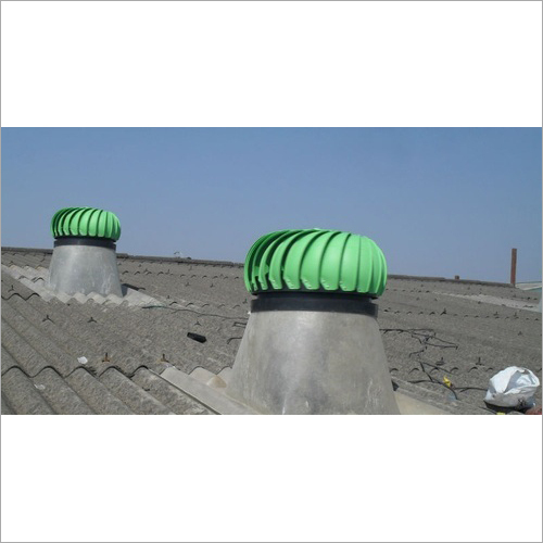 Spherical Wind Turbine Ventilator