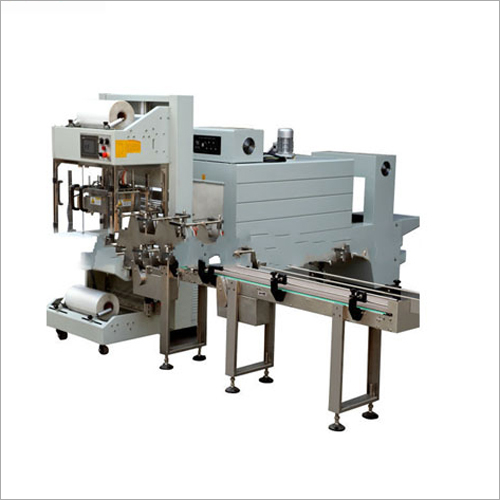 Automatic Sleeve Wrapper And PE Film Shrink Packaging Machine