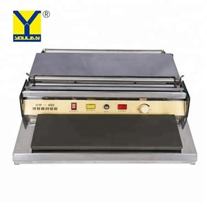 HW-450 Commercial Household Food Fruit Tray Wrapper Film Wrap Sealer Sealing Machine