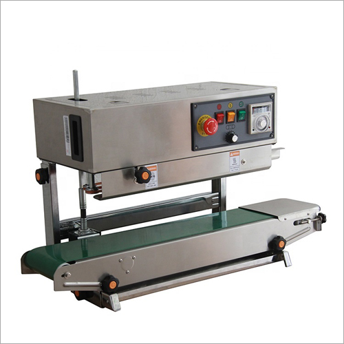 Continuous Band Sealer Plastic Bag Film Sealing Machine