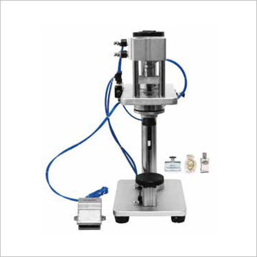 Pneumatic Perfume Bottle Sealing Machine