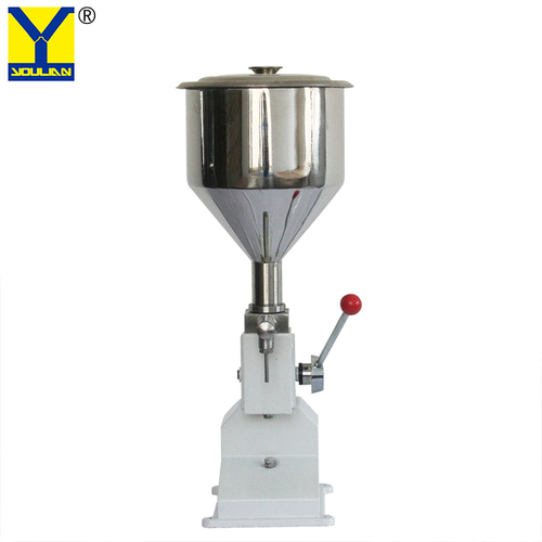 A03 Simple Manual Cream Grease Cosmetic Filling Machine for Essential Oil