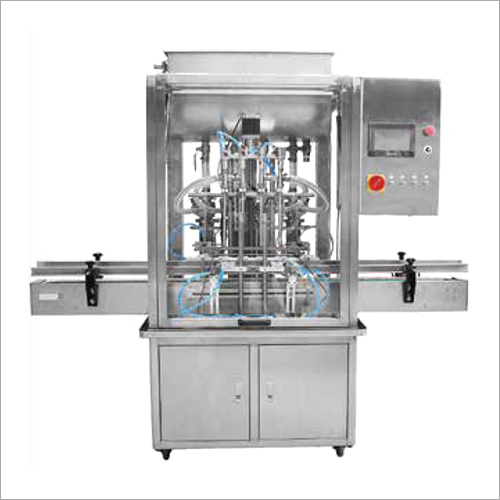 Automatic Piston Type Paste Filling Machine