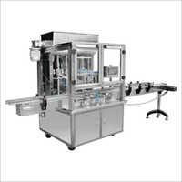 Straight Line Piston Type Thick Sauce Filling Machine