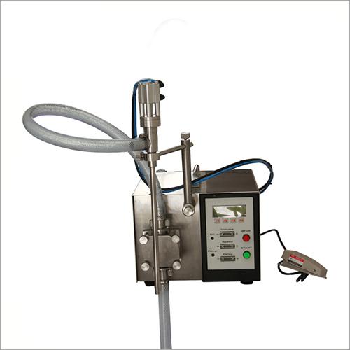 Magnetic Gear Piston Pump Shampoo Liquid Filling Machine