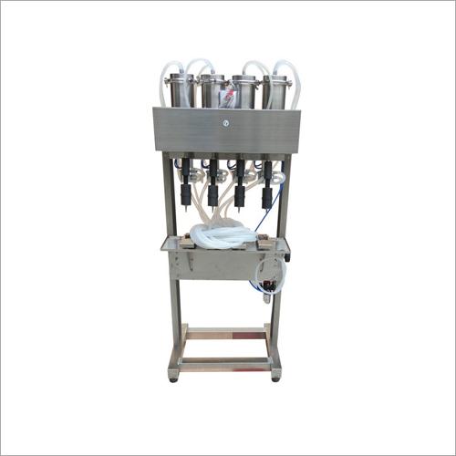 Semi-Automatic Perfume Bottle Filling Machine Vacuum