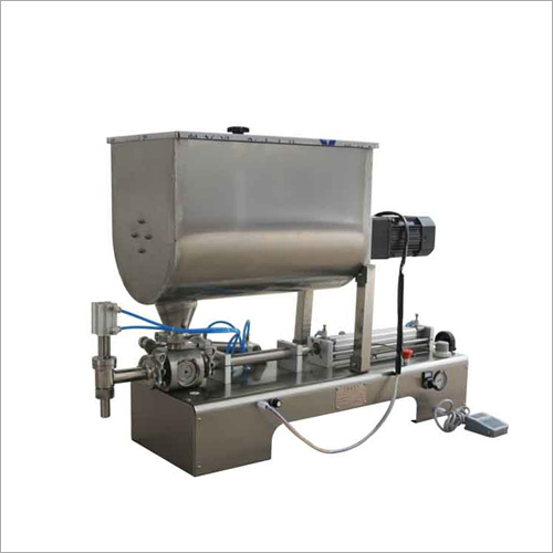 High Viscosity Cream Paste Liquid Mixing And Filling Machine