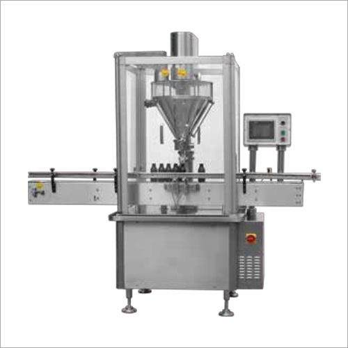 Automatic Straight Line Single Head Powder Filling Machine