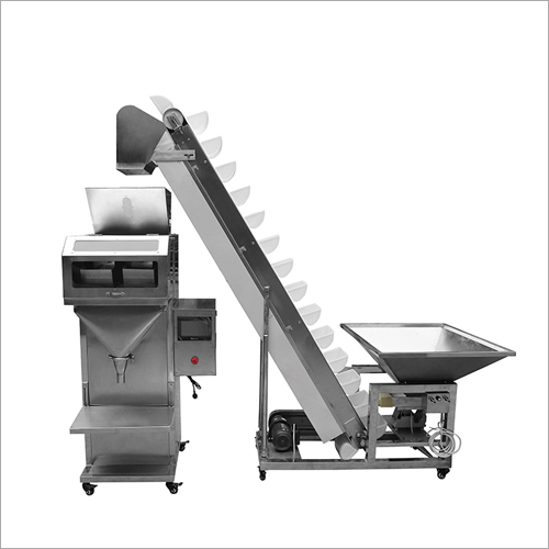 Semi-Automatic Two Electronic Scale Granule Filling Machine and ZX-D Granule Bucket Elevator