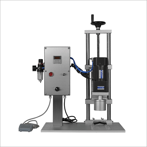 Semi Automatic Desk Capping Machine