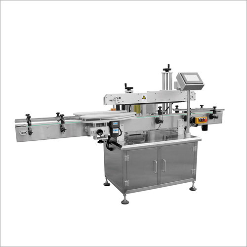 Automatic Single Side Bottle Labeling Machine