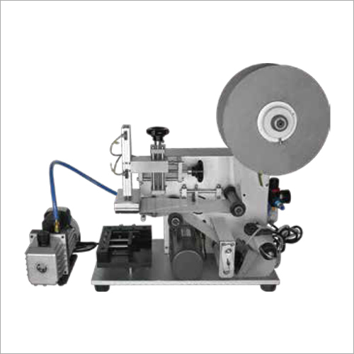 40 W Semi Automatic Plane Bottle Labeling Machine