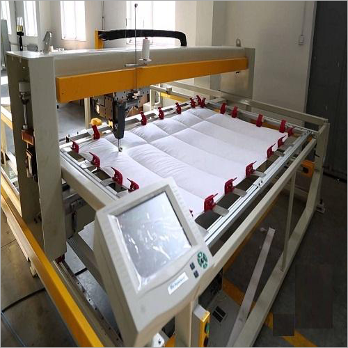 Computerized Single Head Quilting Machine