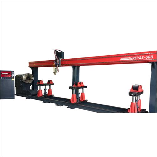 CNC Plasma & Oxy Fuel Pipe Profile Cutting Machine
